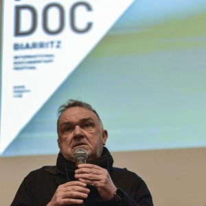 """Jacques Mitsch réalisateur de """"le blob - un génie sans cerveau"""" Fipadoc 2020"""